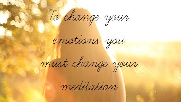 emotions meditations